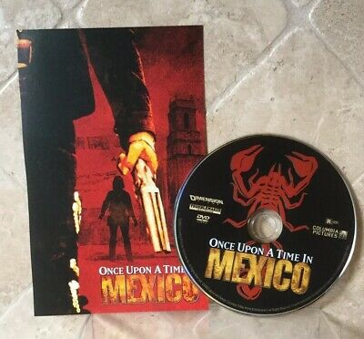 👀L@@K❗️Once Upon a Time in Mexico (2004) DISC ONLY - NO CASE - MINT & FAST SHIP