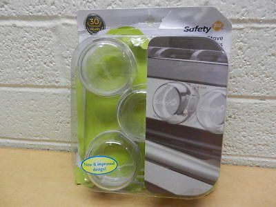 Safety 1st Clear View Sove Knob Covers 5 Count New Open Package