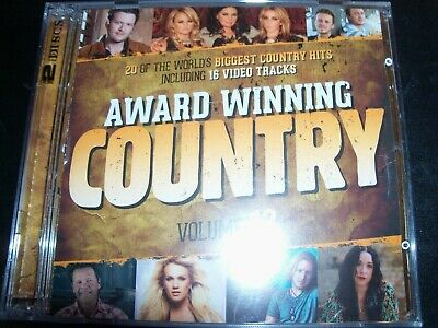 Award Winning Country Volume 12 CD DVD (Kenny Chesney Carrie Underwood Blake She