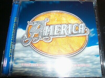 America The Definitive Greatest Hits Very Best Of (Aust) CD - New (Not Sealed)