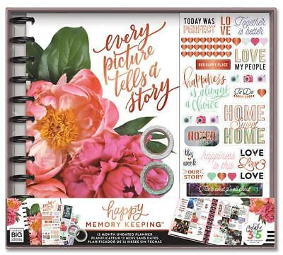 MAMBI Happy Planner Memory Keeping BIG Box Kit - Undated 12 Month -Every Picture