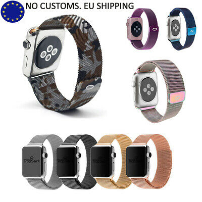Apple Watch Band Strap Magnetic Loop Stainless Steel For Series 1/2/3/4 iWatch