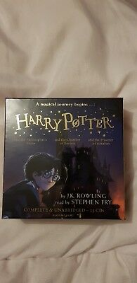 Harry Potter Audio Books Collection J K Rowling read by Stephen Fry 25 CDs new