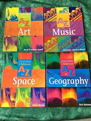 Oxford Childrens Books Bundle, Art, Music, Geography and Space