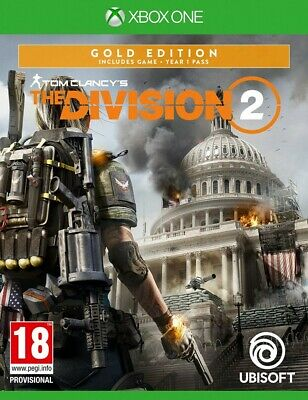 Tom Clancys The Division 2 Gold Edition Deutsch&OVP(Xbox One)