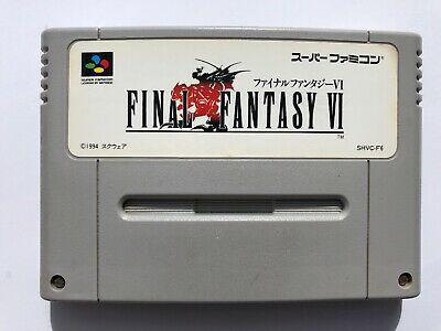 Super Famicom (SFC) - Final Fantasy VI (JAP)