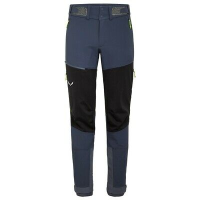 - Salewa Ortles 2 WS/DST Regular Pantaloni Uomo Winstopper/Durastretch, Blu