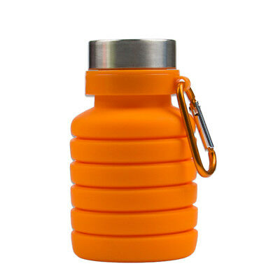 1pcs Stretch Funny Creative Portable Water Bottle Storage Kettle for Travel Trip