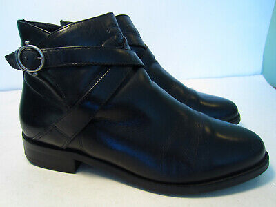 ee14a70a607 WOMEN'S ARIAT ATS Ankle Strap Buckle Boots Size 8.5 Made In Brazil