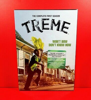 Treme: The Complete First Season 1 (DVD, 4-Disc Set, 2011) HBO TV - BRAND NEW