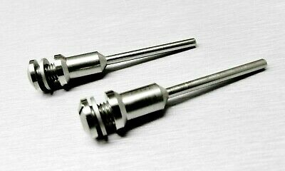 "2 Piece Screw Head Mandrel Reinforced with 1/4""Screw Head & 1/8"" Shank Rotary"