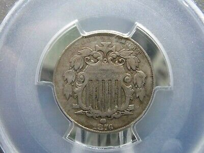 1876 Shield Nickel 5c PCGS VF20 East Coast Coin & Collectables, Inc.