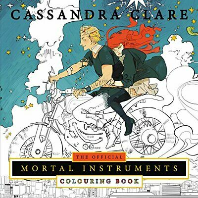 Official Mortal Instruments Colouring Book by Cassandra Clare New Paperback Book