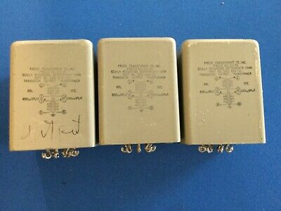 Three Freed Audio Output Transformers