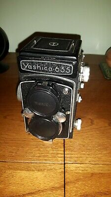Yashicaflex Camera and Case