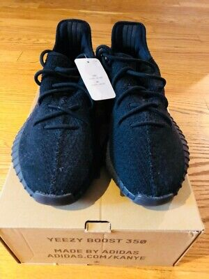 93851743f ADIDAS YEEZY BOOST 350 V2 Core Black Red Bred SPLY Cp9652 Size 10 ...