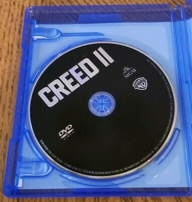 Creed 2 DVD (blu ray disk and digital HD not included)