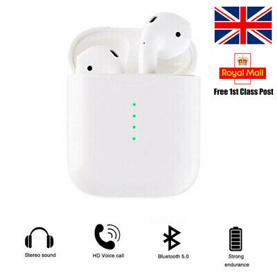 TWS i10 Earpods Wireless Earphones Compatible With Apple and Android 5.0