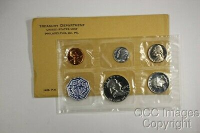 1963 US Proof Set / Original Packaging / Nice Envelope, No Stickers or Writing