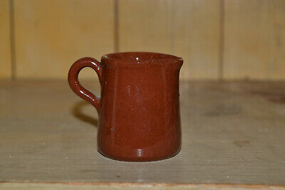 "Rare Vintage Mini Tiny 2"" Inch Tall Pitcher Red Clay"