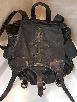 e2a2151d7af LARGE RARE CHROME Hearts Backpack with Sterling Accents - $2,275.00 ...