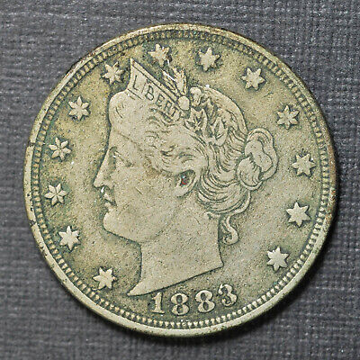 1883 WO//Cents Liberty Nickel #2001187