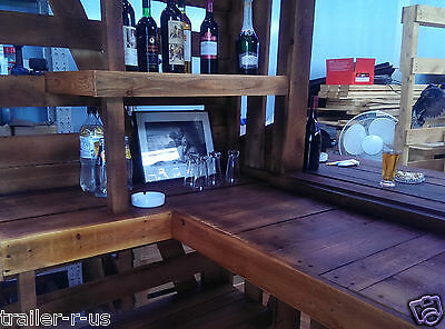 Large Timber Bar 100% Recycled Pallets - URGENT SALE