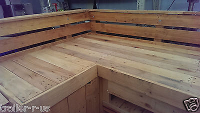 Timber BBQ Bar 100% Recycled Pallets - URGENT SALE
