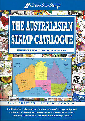 Seven Seas Australasian Stamp Catalogue Australia & Territories 32nd Ed LATEST!