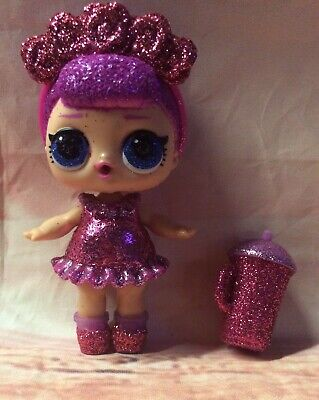 RETIRED LOL BABY Surprise Glam Glitter Bling Big Sister Sugar Queen Cutie