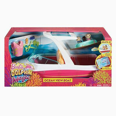NEW Barbie Dolphin Magic Ocean View Boat