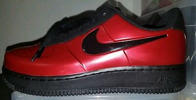 bed58b44637e Nike Air Force One 1 Foamposite Foam Pro Cup Low Gym Red Black Bred x AJ3664