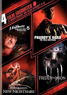 A Nightmare on Elm Street 5 / 6 / 7 / 8 (2 Disc) DVD NEW