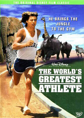 The World's Greatest Athlete DVD NEW