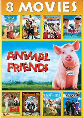 Animal Friends: 8 Movie Collection (2 Disc) DVD NEW