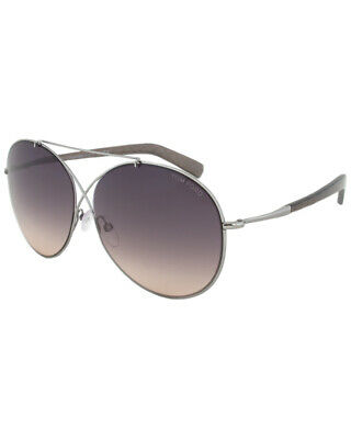 ddf541a6778 TOM FORD IVA Sunglasses in Shiny Rose Gold Blue FT0394 28W 62 ...