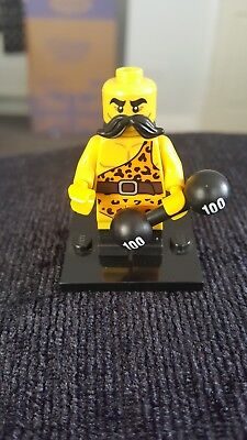 Genuine Lego Mini figures Weightlifter from series 17
