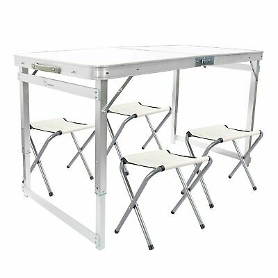 Folding Table Heavy Duty Trestle Camping Party Picnic BBQ Stall Garden