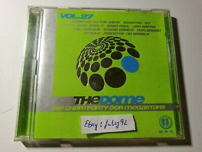THE DOME VOL 27  2 CD Set Sampler Party Schlager Pop Dance Charts 40 Tracks