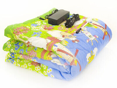 Electric heating pad safe voltage with power supply 12 volts for colds bronchiti