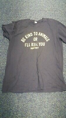 Morrissey THE Smiths Be kind to animals T Shirt XL