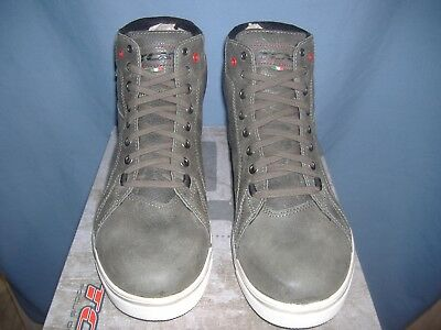 TCX Street Ace Waterproof Grey Commuting Street Motorcycle Boots All Mens Sizes