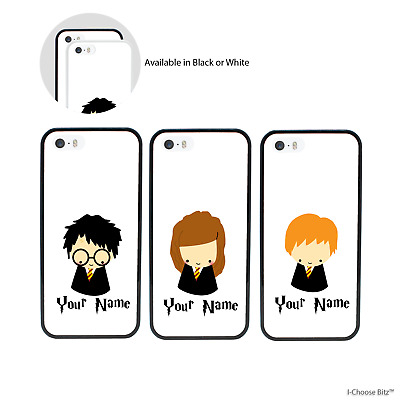 Harry Potter Personnalisé Douane Nom Coque Apple iPhone 5s SE 6 6s 7 8 PLUS X XS