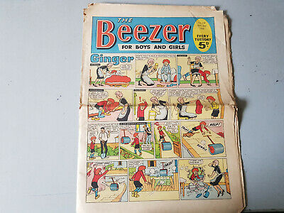 THE BEEZER COMIC No. 558 from 1966