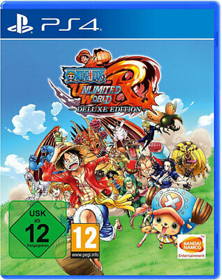 One Piece Unlimited World Red Deluxe Edition PS4 Neu & OVP