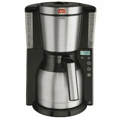 Cafetière filtre programmable avec verseuse isotherme Look IV Th - MELITTA 1011