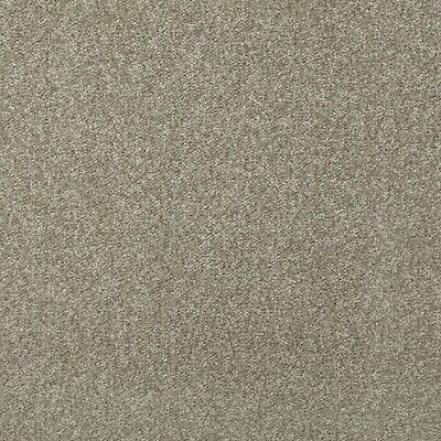 Mink Budget Saxony Carpet Felt Backing Flecked Hard Wearing Bedroom Lounge Cheap