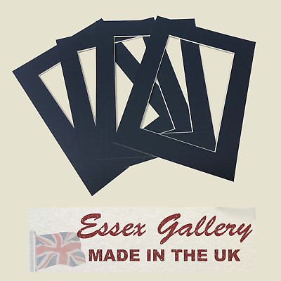 JOBLOT 25 - 8x6 for 6x4 Picture And Photo Mounts NAVY