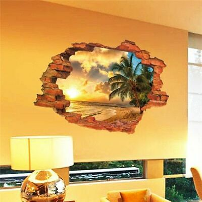 3d Room Home Decoration Wall Stickers Sticker Super Decals Rooms Kids Movie Hero