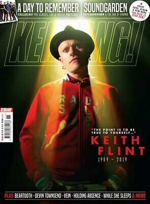 KERRANG! March 2019 KEITH FLINT TRIBUTE ISSUE Prodigy SOUNDGARDEN Devin Townsend